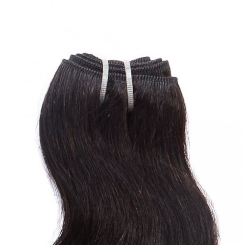 "【Crystal 6A】 10""-26"" 5 Bundles Body Wavy Virgin Brazilian Hair Natural Black 300g"