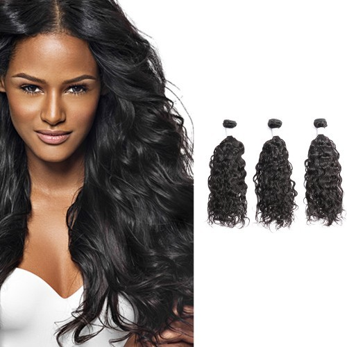 【Diamond 8A】 Diamond Virgin Hair Natural Wavy 3Bundles